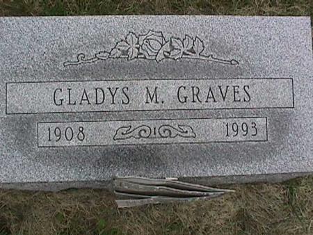 GRAVES, GLADYS - Henry County, Iowa | GLADYS GRAVES
