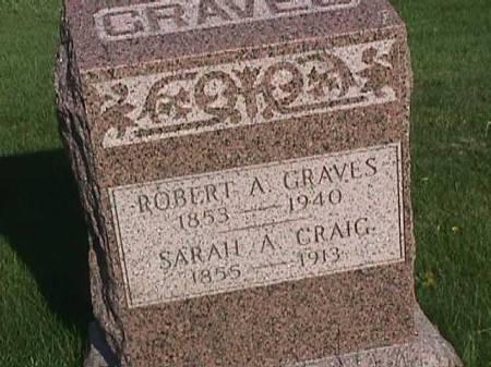 CRAIG GRAVES, SARAH A. - Henry County, Iowa | SARAH A. CRAIG GRAVES
