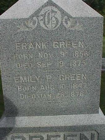 GREEN, FRANK - Henry County, Iowa | FRANK GREEN