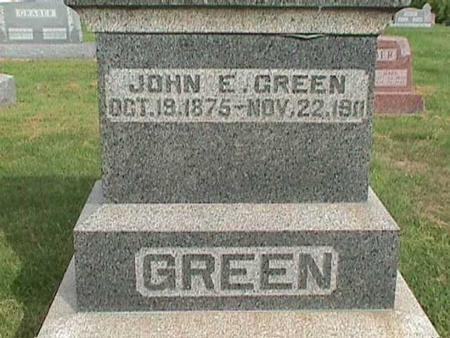 GREEN, JOHN E. - Henry County, Iowa | JOHN E. GREEN