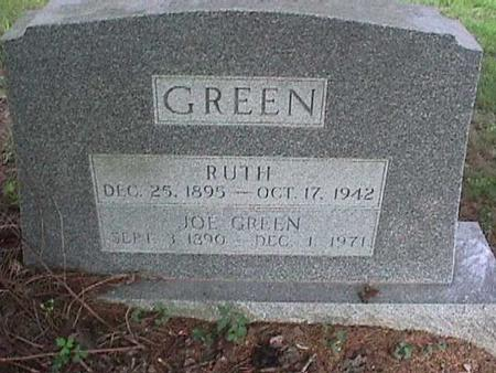 GREEN, RUTH - Henry County, Iowa | RUTH GREEN