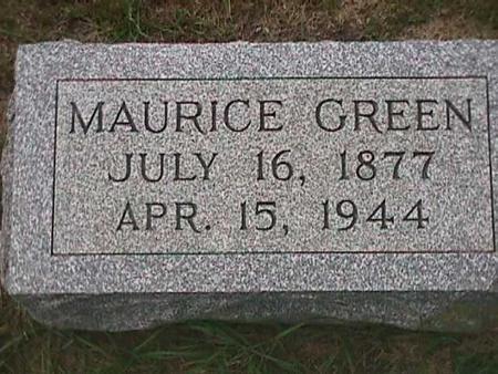 GREEN, MAURICE - Henry County, Iowa | MAURICE GREEN