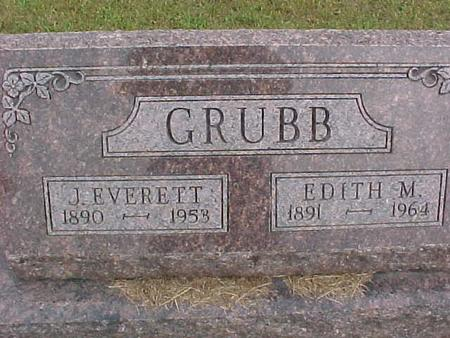 GRUBB, J. EVERETT - Henry County, Iowa | J. EVERETT GRUBB