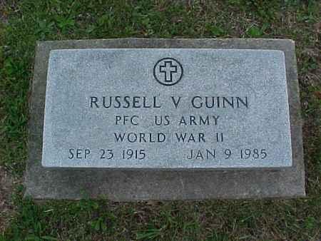 GUINN, RUSSELL - Henry County, Iowa   RUSSELL GUINN