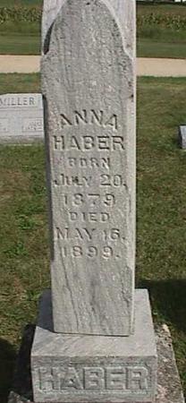 HABER, ANNA - Henry County, Iowa   ANNA HABER