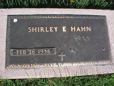 HAHN, SHIRLEY E. - Henry County, Iowa | SHIRLEY E. HAHN