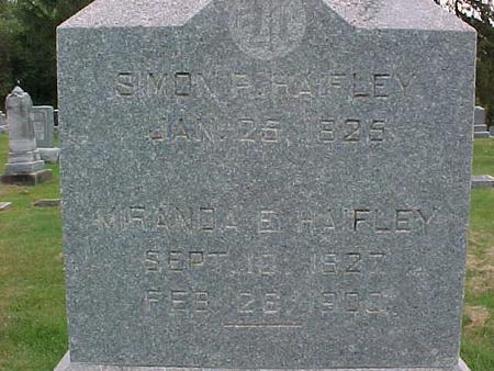 HAIFLEY, MIRANDA E - Henry County, Iowa | MIRANDA E HAIFLEY