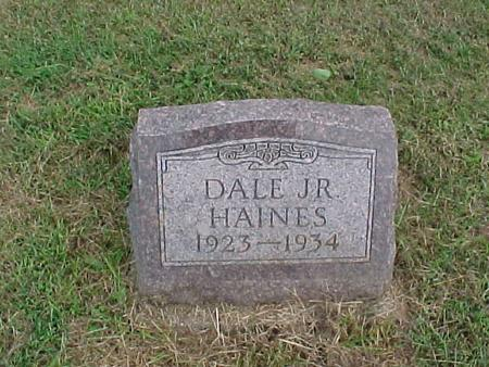 HAINES, DALE JR. - Henry County, Iowa | DALE JR. HAINES