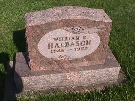 HALBASCH, WILLIAM R. - Henry County, Iowa   WILLIAM R. HALBASCH