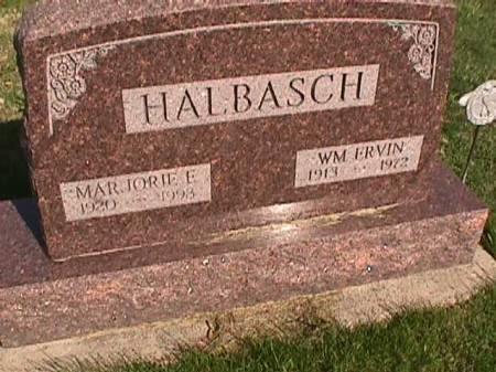 HALBASCH, WM ERVIN - Henry County, Iowa | WM ERVIN HALBASCH