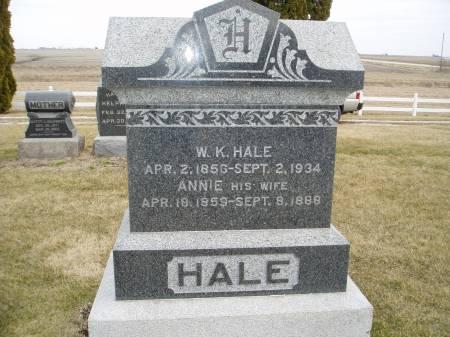HALE, ANNIE - Henry County, Iowa | ANNIE HALE