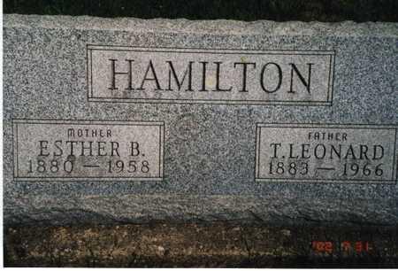 HAMILTON, ESTHER B. - Henry County, Iowa | ESTHER B. HAMILTON