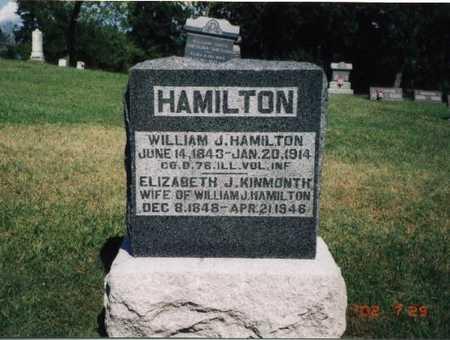 KINMONTH HAMILTON, ELIZABETH J. - Henry County, Iowa | ELIZABETH J. KINMONTH HAMILTON