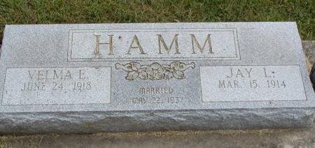 HAMM, JAY L & VELMA E - Henry County, Iowa | JAY L & VELMA E HAMM