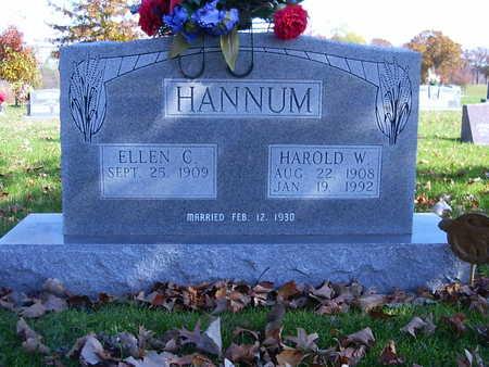 HANNUM, ELLEN C. - Henry County, Iowa | ELLEN C. HANNUM