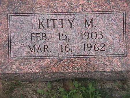 HANZE, KITTY - Henry County, Iowa | KITTY HANZE