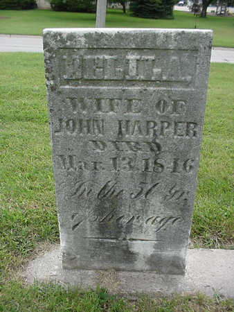 HARPER, DELILA - Henry County, Iowa | DELILA HARPER