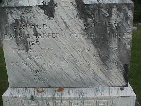 HARPER, CATHARINE - Henry County, Iowa | CATHARINE HARPER