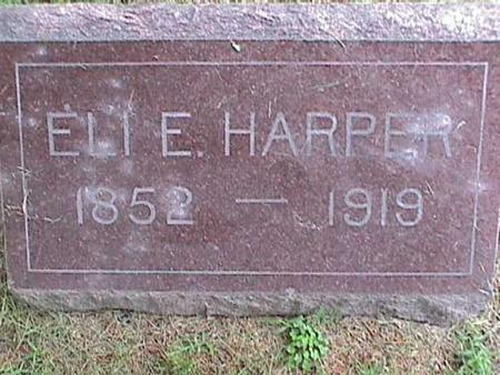 HARPER, ELI E. - Henry County, Iowa | ELI E. HARPER