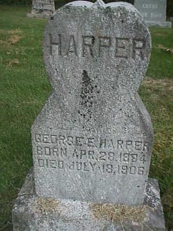 HARPER, GEORGE E - Henry County, Iowa | GEORGE E HARPER