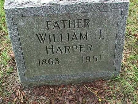 HARPER, WILLIAM J - Henry County, Iowa | WILLIAM J HARPER