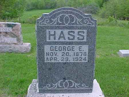 HASS, GEORGE - Henry County, Iowa | GEORGE HASS