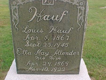 HAUF, LOUIS - Henry County, Iowa | LOUIS HAUF