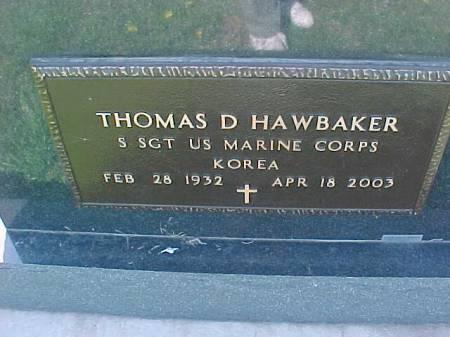 HAWBAKER, THOMAS D. - Henry County, Iowa | THOMAS D. HAWBAKER