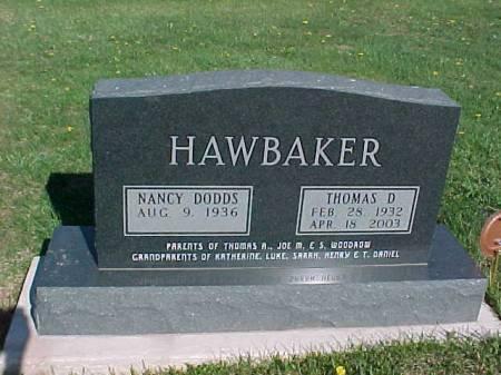 DODDS HAWBAKER, NANCY - Henry County, Iowa | NANCY DODDS HAWBAKER
