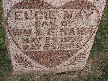 HAWN, ELCIE MAY - Henry County, Iowa | ELCIE MAY HAWN