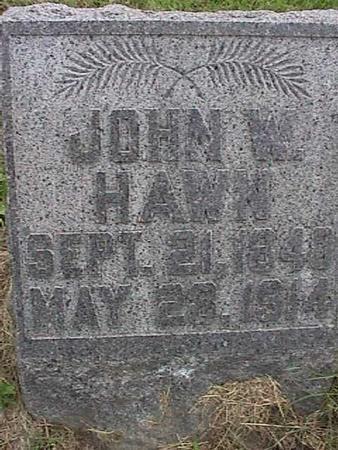 HAWN, JOHN W. - Henry County, Iowa | JOHN W. HAWN