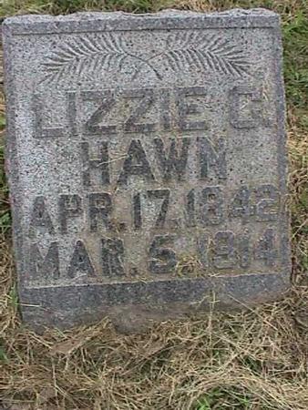 HAWN, LIZZIE C - Henry County, Iowa | LIZZIE C HAWN