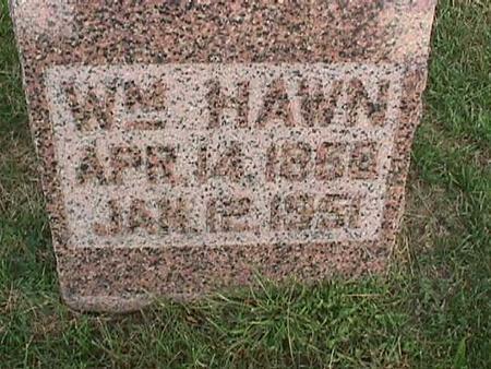 HAWN, WM - Henry County, Iowa | WM HAWN