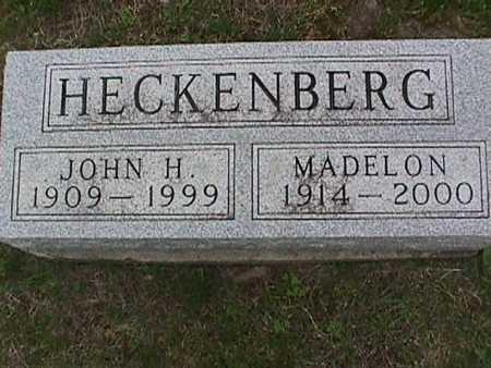 HECKENBERG, MADELON - Henry County, Iowa | MADELON HECKENBERG