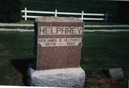 HELPHREY, BENJAMIN B. - Henry County, Iowa   BENJAMIN B. HELPHREY