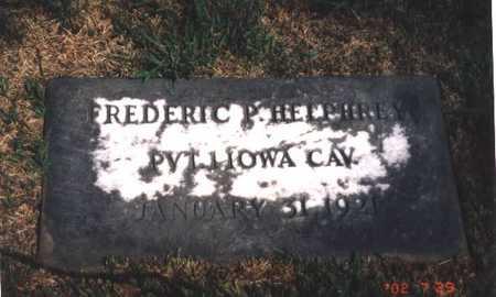 HELPHREY, FREDERICK PARRETT - Henry County, Iowa | FREDERICK PARRETT HELPHREY