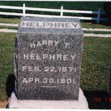 HELPHREY, HARRY T. - Henry County, Iowa   HARRY T. HELPHREY