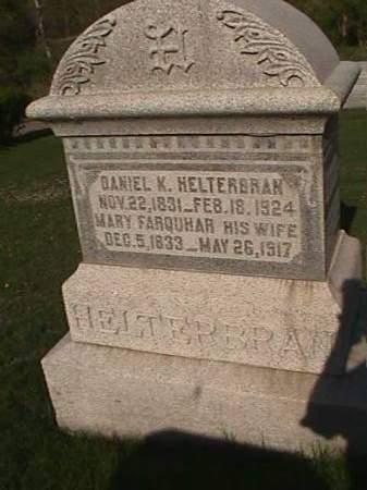 HELTERBRAN, DANIEL K. - Henry County, Iowa | DANIEL K. HELTERBRAN