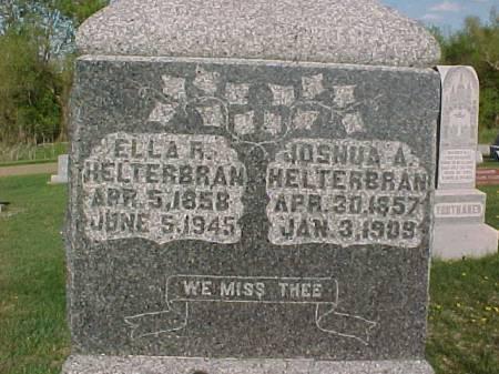 HELTERBRAN, ELLA R. - Henry County, Iowa   ELLA R. HELTERBRAN
