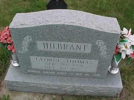 HILBRANT, GEORGE THOMAS - Henry County, Iowa   GEORGE THOMAS HILBRANT