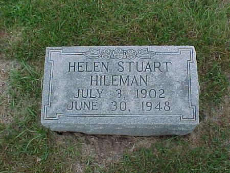 STUART HILEMAN, HELEN - Henry County, Iowa | HELEN STUART HILEMAN