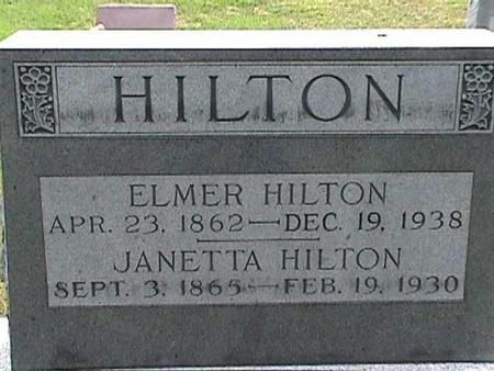 HILTON, JANETTA - Henry County, Iowa | JANETTA HILTON