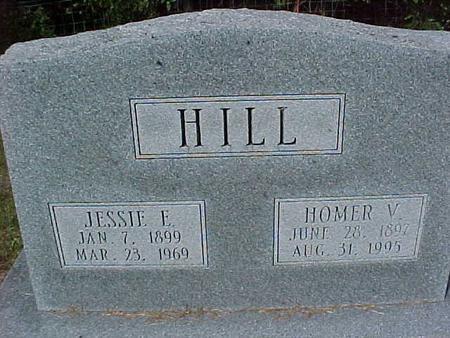 HILL, JESSIE - Henry County, Iowa   JESSIE HILL
