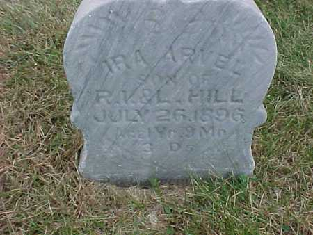 HILL, IRA ARVEL - Henry County, Iowa | IRA ARVEL HILL