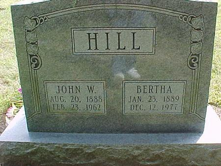 HILL, JOHN W - Henry County, Iowa | JOHN W HILL