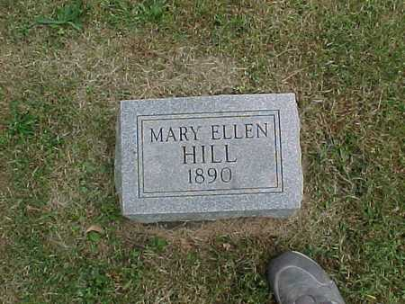 HILL, MARY ELLEN - Henry County, Iowa | MARY ELLEN HILL