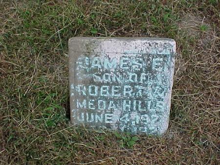 HILLS, JAMES E. - Henry County, Iowa | JAMES E. HILLS