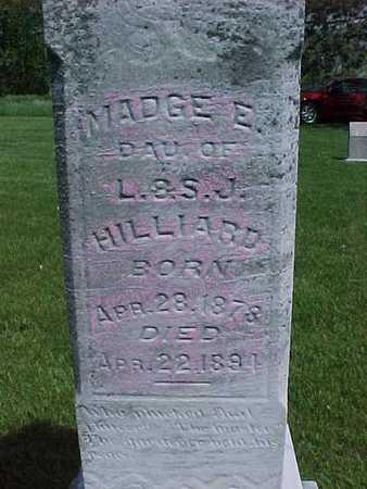 HILLYARD, MADGE - Henry County, Iowa | MADGE HILLYARD