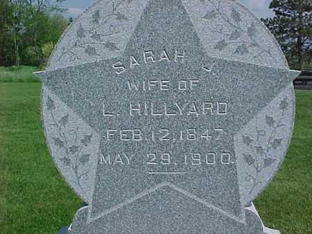 HILLYARD, SARAH - Henry County, Iowa | SARAH HILLYARD