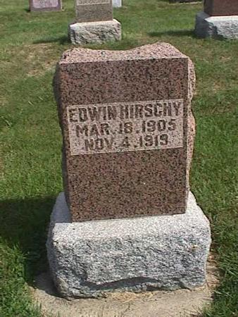 HIRSCHY, EDWIN - Henry County, Iowa | EDWIN HIRSCHY